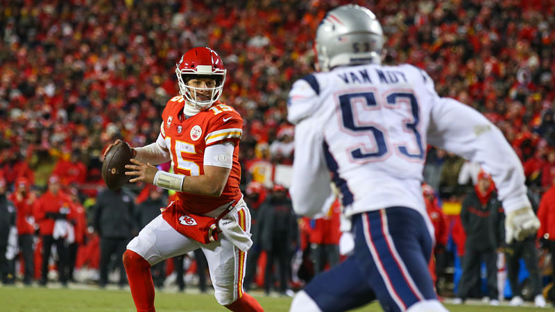 How Would Patriots Look With Patrick Mahomes At QB? Nick Wright Explains