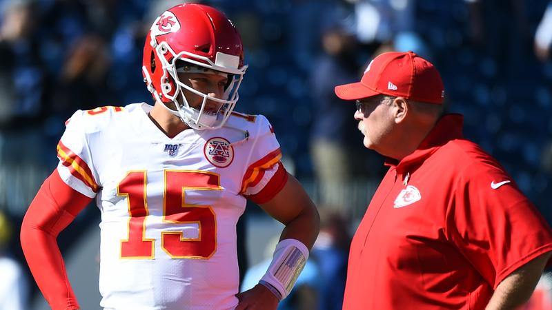Patrick Mahomes, Andy Reid Describe Chiefs' Equipment Fiasco At Gillette Stadium