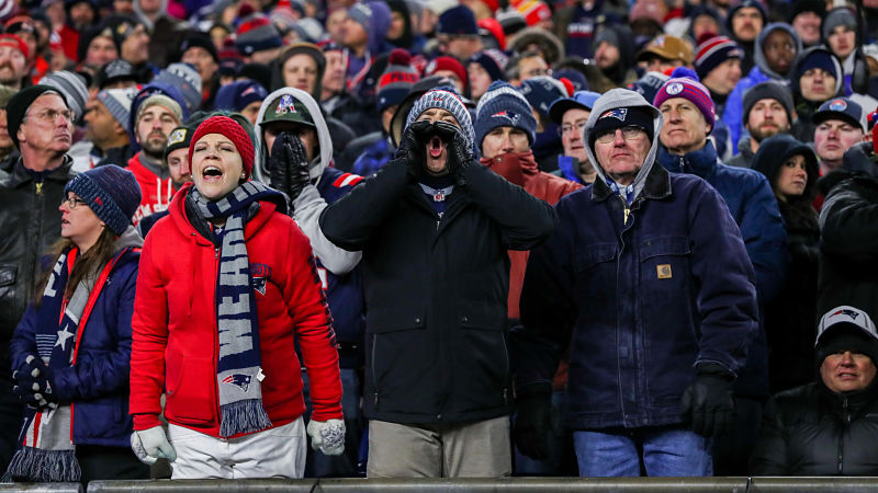 NFL Writer Discovers Thesaurus, Rips Patriots Fans In Obnoxious Fashion