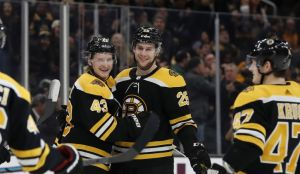 Brandon Carlo Nets Third Goal Of Season After Strong Bruins Line Change