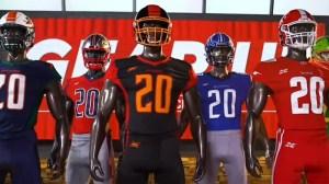 XFL Unveils Each Team's Jerseys, Uniforms For Inaugural 2020 Season