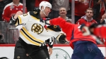 Watch Zdeno Chara, Tom Wilson Drop Gloves In First Period Of Bruins-Capitals