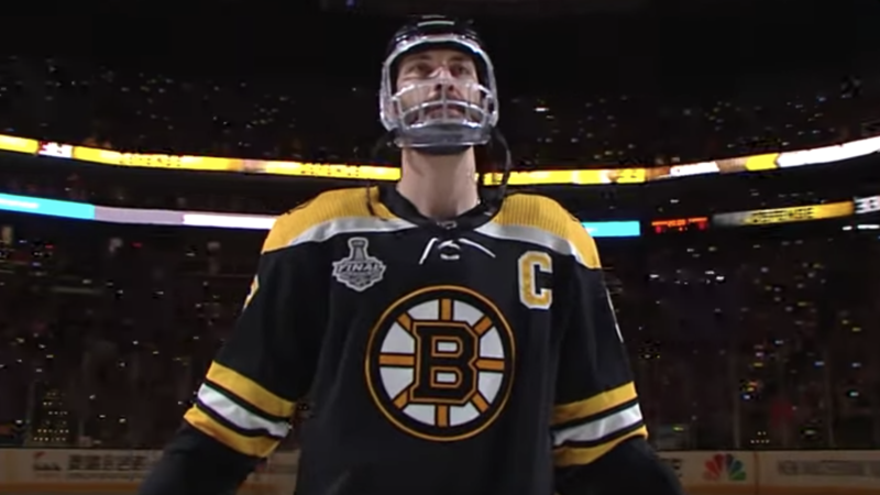Zdeno Chara No. 2 Moment: Game 5 Introduction After Broken Jaw In Stanley Cup Final