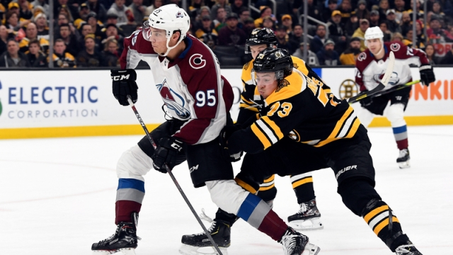 Bruins Wrap: Avalanche Hand Boston First Regulation Home Loss Of Season