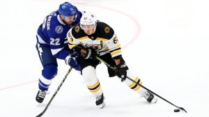 Brad Marchand Looks To Extend Point Streak As Bruins Try To Snap Losing Streak