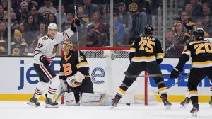 Bruins Wrap: Blackhawks Halt Boston's Comeback Effort 4-3 In Overtime
