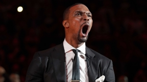 Chris Bosh Has Hilarious Response To Picture Of LeBron James, Dwyane Wade