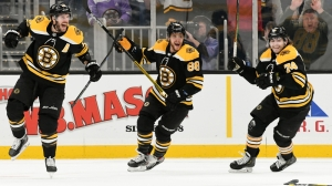 Vote For Bruins' Top Play From November To Win Berkshire Bank Exciting Rewind Giveaway