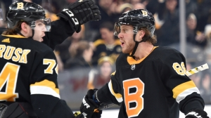 David Pastrnak Continues Recent Hot Streak With Point In Bruins' Loss