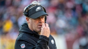 Doug Pederson Couldn't Help But Laugh As Fan Snuck Into Press Conference