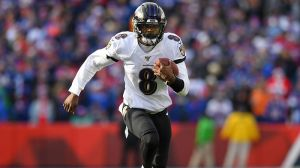 QB Lamar Jackson Continues To Set Records In Ravens' Victory Over Bills