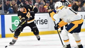 Patrice Bergeron Has Monster Game Vs. Predators Despite Bruins' OT Loss