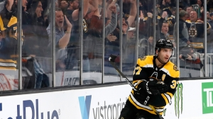 Patrice Bergeron Gets Bruins On Board First With Late Strike Vs. Sabres