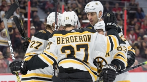Patrice Bergeron Returns To Bruins' Lineup In Huge Way In First Period