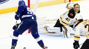 Bruins Unable To Muster Much Offense In Loss Vs. Lightning On Thursday