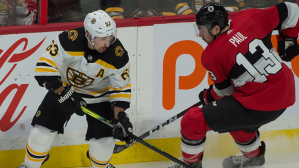 Ford Final Five Facts: B's Lose Despite Patrice Bergeron's Strong Return