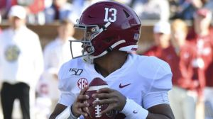 Could Tua Tagovailoa Be Tom Brady's Heir To Patriots' Quarterback Throne?