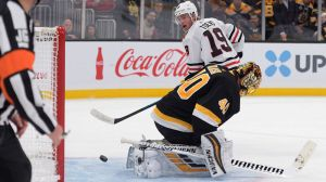 Bruins Notes: Third Period Burst Isn't Enough To Lift Boston Over Blackhawks