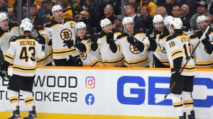 Bruins Get Back In Win Column Thanks To Offensive Outburst Vs. Predators