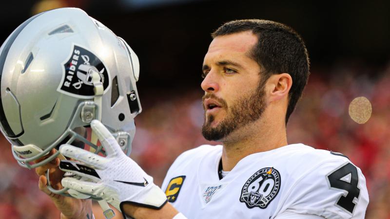 Derek Carr Doesn't Sound Too Thrilled About Tom Brady-Raiders Rumors