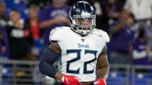 Watch Titans' Derrick Henry Complete Jump-Pass TD Vs. Ravens