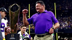 Ed Orgeron's National Championship Celebration Plans Are Peak Coach O