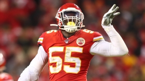Chiefs' Frank Clark Convinced Titans RB Derrick Henry 'Not Hard To Hit'