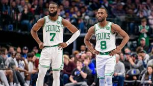 Jaylen Brown's Praise Of Kemba Walker Says Plenty About Kyrie Irving's Celtics Run