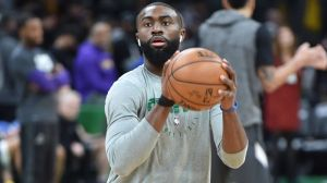 Jaylen Brown Checks Off Bucket List Item In Celtics' Rout Of Lakers