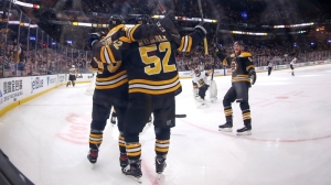 Jeremy Lauzon Gets Bruins On Board With Slick First Period Goal Tuesday