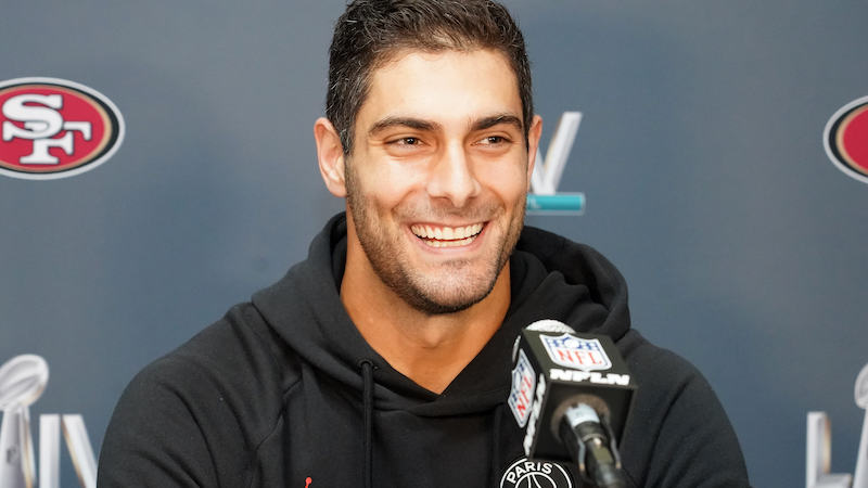 Jimmy Garoppolo Recalls When He Felt Ready To Start For ...Jimmy Garoppolo Patriots