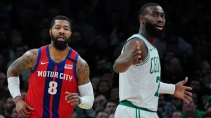 Jaylen Brown Suffers Sprained Right Thumb In Celtics' Loss To Pistons