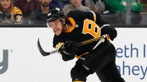 Bruins' David Pastrnak Ranks Third In Midseason Hart Trophy Voting