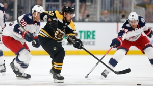 Brad Marchand Snaps Four-Game Point Streak As Bruins Fall To Blue Jackets