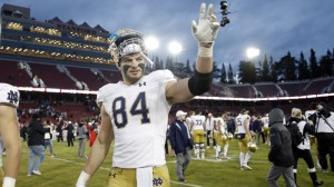 NFL Mock Draft Has Patriots Selecting This Tight End In First Round