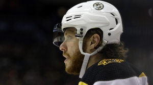 Here's How David Pastrnak Fared In NHL's Shooting Stars Challenge