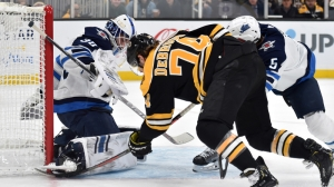 Bruins Earn Second Straight Victory With Solid Performance Vs. Jets