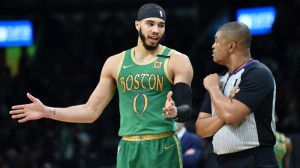 Jayson Tatum Believes His Dunk On LeBron Was Better Than Jaylen Brown's