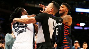 Three Players Suspended, Two Fined For Roles In Knicks-Grizzlies Scrap