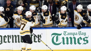 After Long Layoff, Patrice Bergeron Stays Hot In Bruins' Win Over Jets