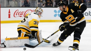 Bruins Ride Explosive First Period To Snap Losing Streak Vs. Penguins
