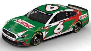 Here's New Castrol Paint Scheme On Ryan Newman's No. 6 Roush Fenway Ford