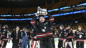 As Back-To-Back Beanpot Champs, Northeastern Aware Target Is On Its Back In 2020