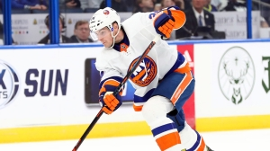 Scott Mayfield Lights Lamp For Islanders While Bruins Struggle Early
