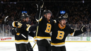Bruins' Fourth Line Comes Up Big In Slowing Down Oilers In First Period