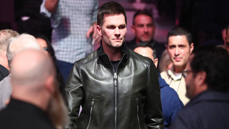 Twitter Freaks Out After Tom Brady Spotted With Mark Davis At UFC 246