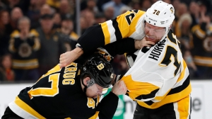 Torey Krug, Patric Hornqvist Offer Thoughts On Their Fight In Bruins-Penguins