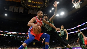 Marcus Smart Details His Trash Talk To Al Horford In Celtics-Sixers