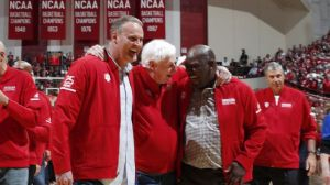 Bobby Knight Back On Indiana Basketball Court For First Time In 20 years