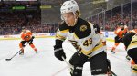 Bruins' Don Sweeney Sends Heartfelt Message To Danton Heinen After Trade